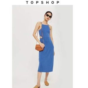 🆕 TOPSHOP Cut Out Side Midi Dress